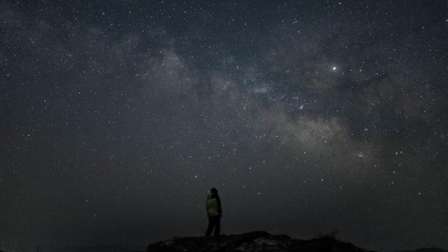 【和歌山県】生石高原に天の川を撮りに行く【星景写真】(2019年3月31日)