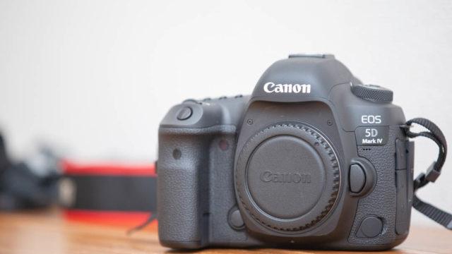 Canon EOS5D mark4 を買った話とCANON EOS6Dとのちょっとした比較