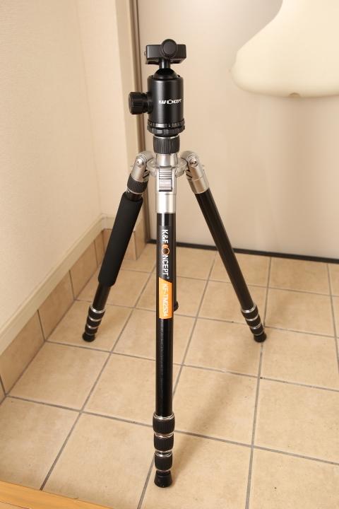 三脚K&F Concept KF-TM2534 を買ったので簡単な紹介
