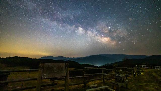 【奈良県】御杖村みつえ高原牧場へ天の川を撮りに行く【星景写真・撮影スポット】(2019年3月13日)