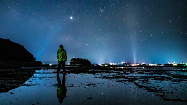 天神崎から見える星空と天の川を紹介します(和歌山県田辺市)
