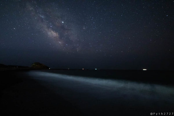 SAMYANG  14mm F2.8で撮影した星景写真(天の川)