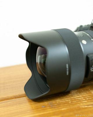 SIGMA 14-24mm F2.8 DG HSM ARTの前玉 24mm