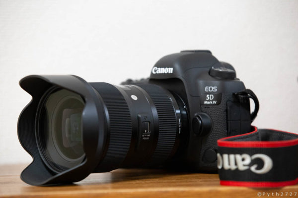 SIGMA 24-35mm F2 DG HSM ARTとCANON EOS5Dmark4