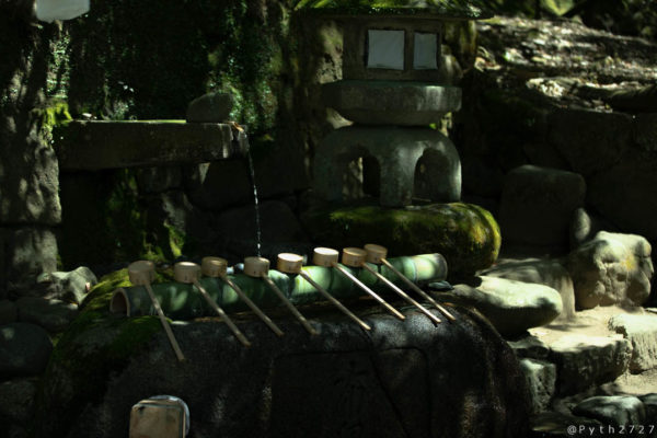 石上神宮の手水舎