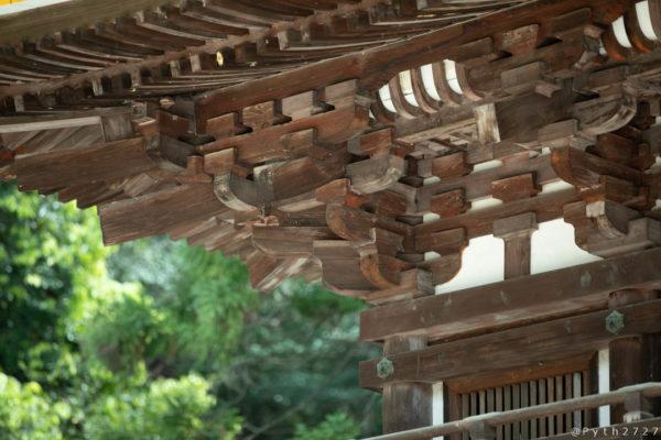 石上神宮の桜門