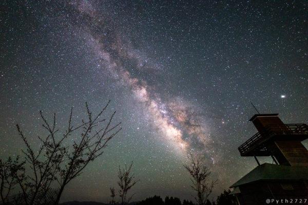 鶴姫公園の天の川
