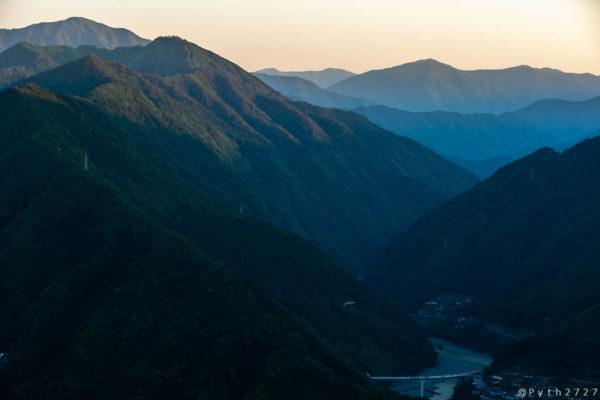 玉置山からの眺望