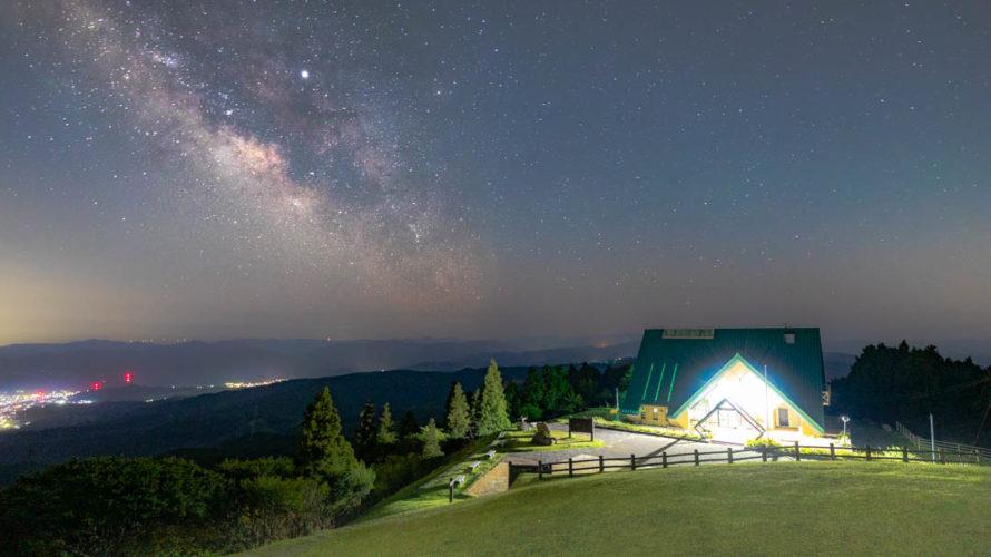 青山高原の星空を紹介します(三重県伊賀市)