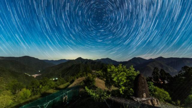 果無集落から見える星空・天の川を紹介します(奈良県・十津川村)