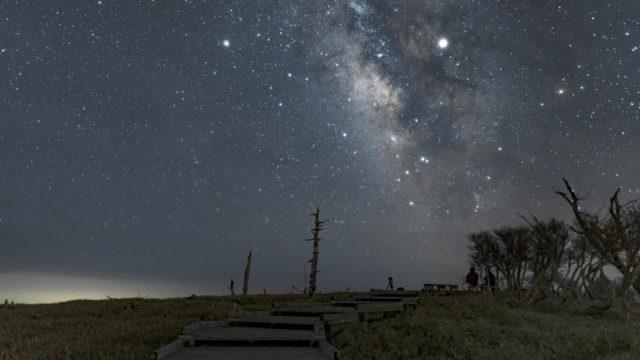 奈良県の宇宙…最強星空スポット、大台ヶ原を紹介します!【星景写真】