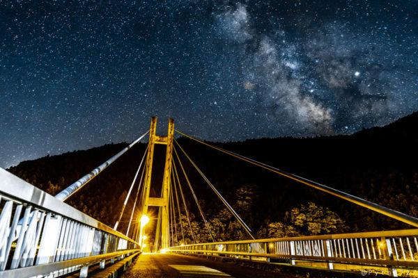 白屋橋と天の川