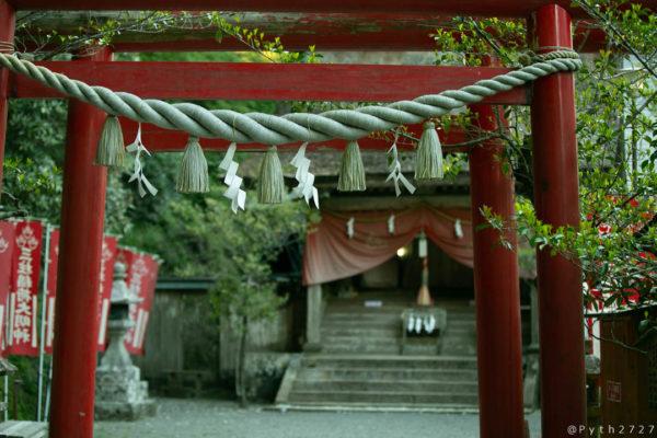 玉置神社摂社・三柱神社