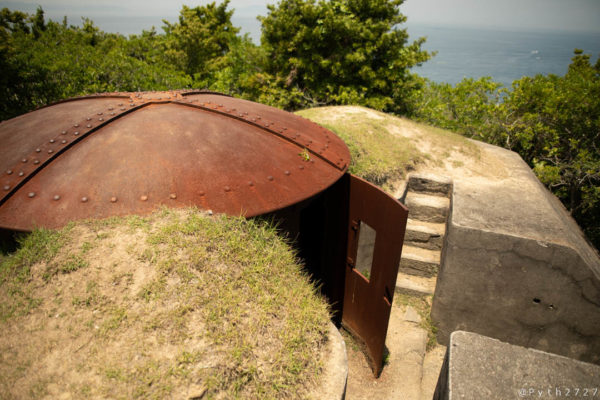 友ヶ島第一砲台跡