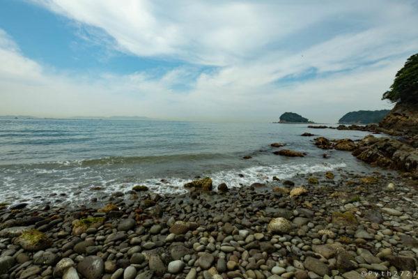 友ヶ島の海岸