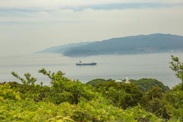 友ヶ島タカノス山展望台