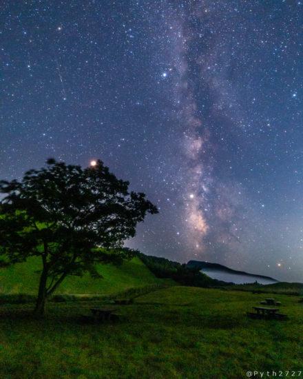 曽爾高原の星空・天の川