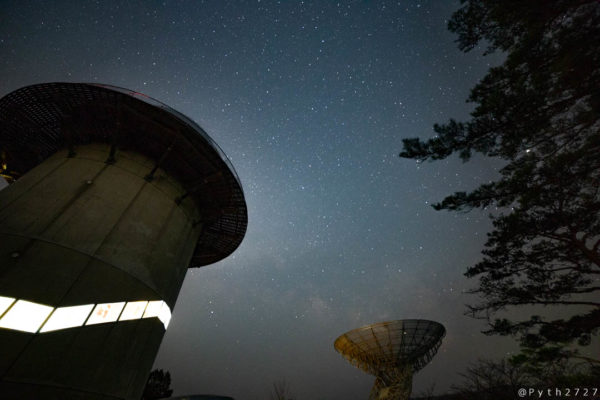 みさと天文台の星空