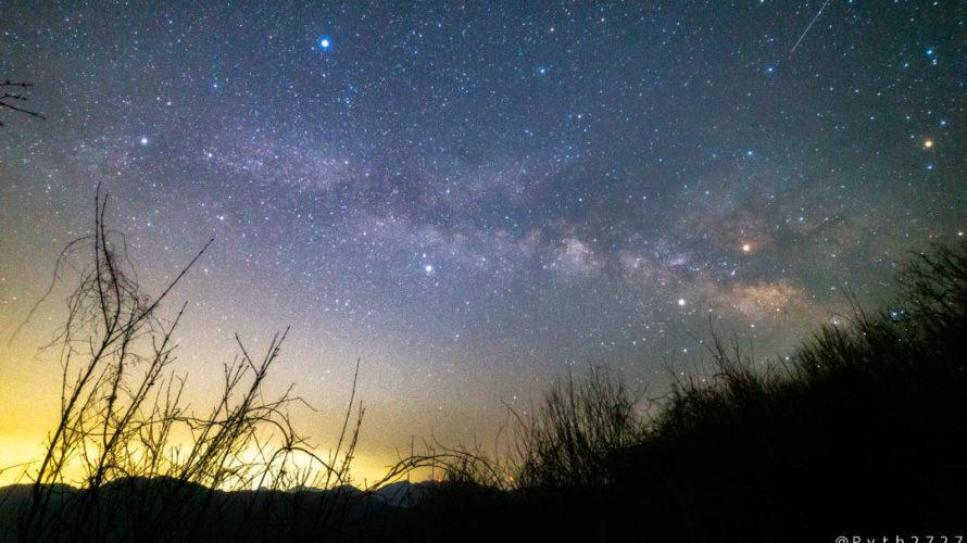 スカイランドおおぼらから見える星空・天の川を紹介します(三重県美杉町)