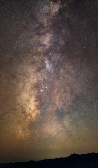 大台ヶ原ドライブウェイ見晴台の星空