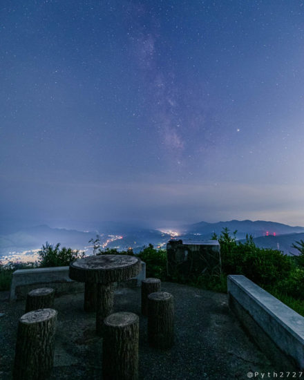 鳥見山公園の星空