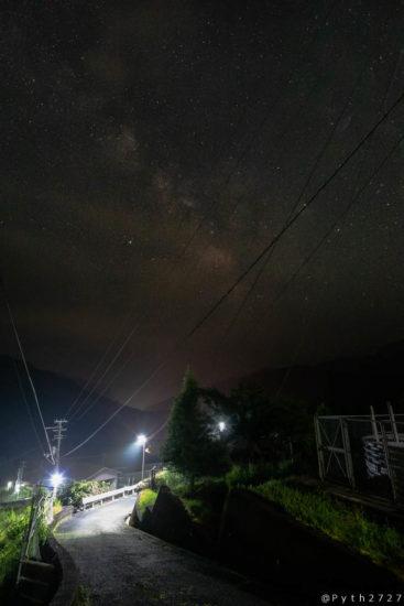 武木の星空
