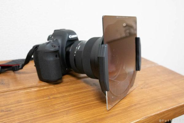 KANI 150mm角型フィルターホルダーとNiSi Soft nano GND(32)