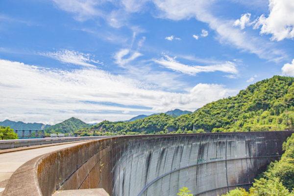 夏の池原ダム