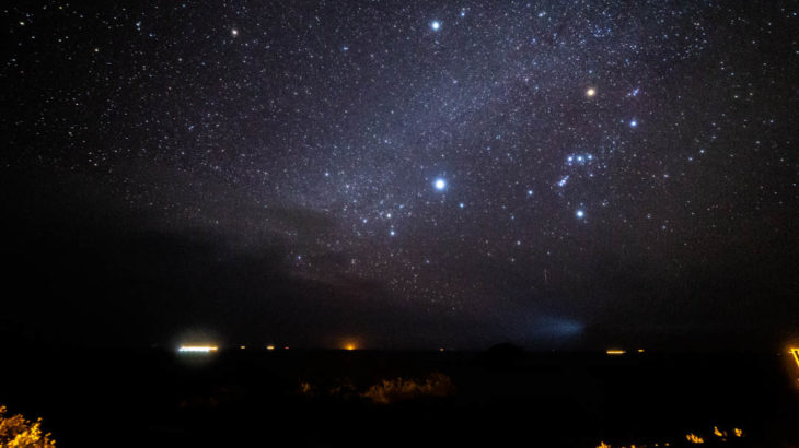 恋人岬で撮影した星空と天の川の写真を紹介します(和歌山県すさみ町)【星景写真】