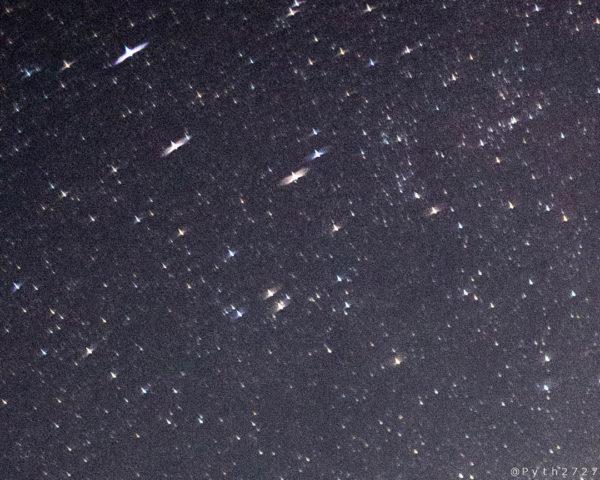 Carl Zeiss Planar で撮影した星空