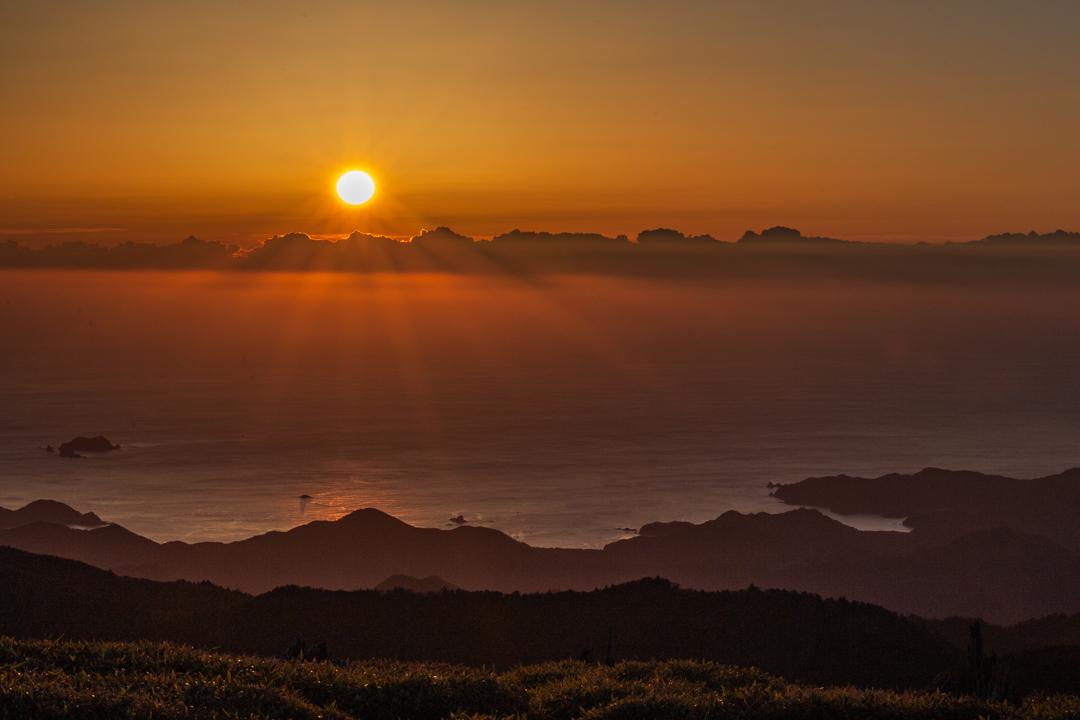 正木峠の日の出