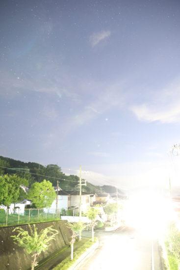 朝倉台の星空