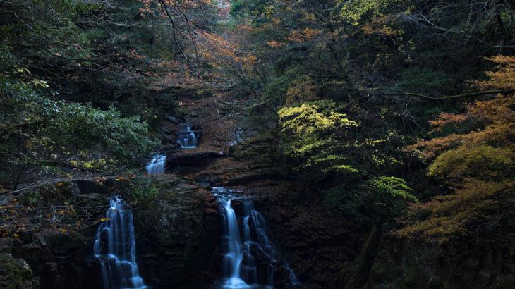 【2019年秋】紅葉の赤目四十八滝に行ってきました(三重県名張市)