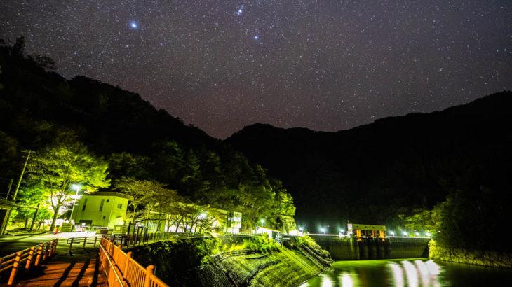 猿谷ダムに星空を撮影に行きました(奈良県五條市)
