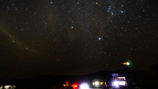 道の駅田辺市龍神ごまさんスカイタワーへ星空を撮影に行きました(和歌山県田辺市)
