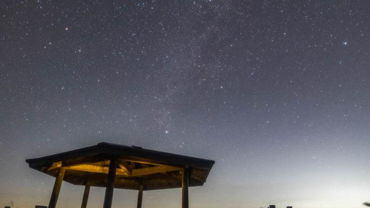 花園物産販売所 展望台へ星空を撮影に行きました(和歌山県かつらぎ町)