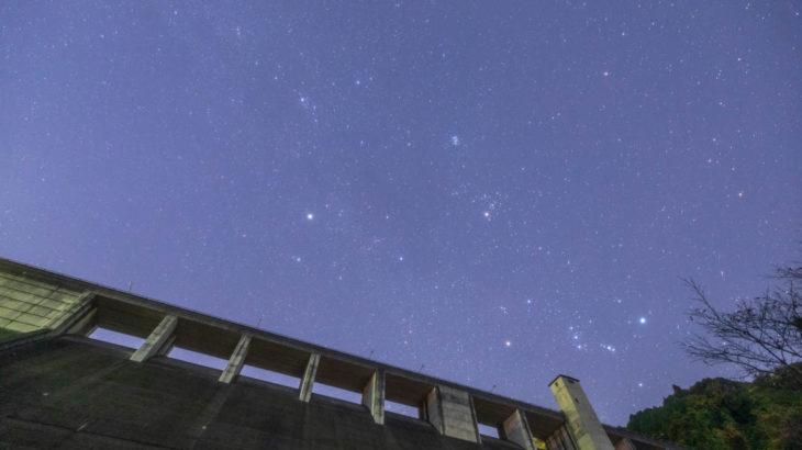 初瀬ダムに星空を撮影に行きました(奈良県桜井市)