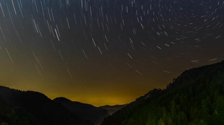 天理ダムへ星空の撮影に行きました(奈良県天理市)
