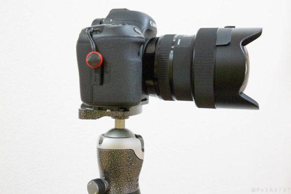 重心バランスの悪いカメラ