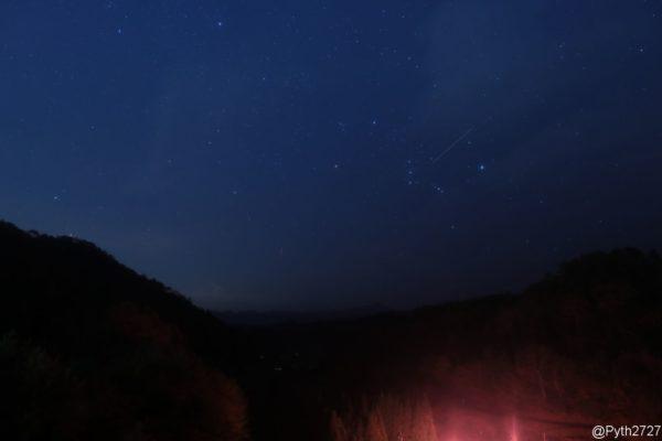 KANI LPRFで撮影した星空