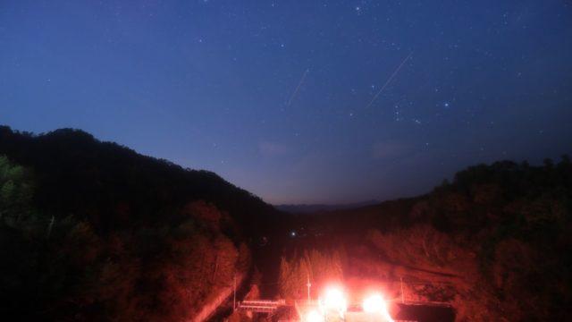 宮奥ダムの星空を紹介します(奈良県宇陀市)