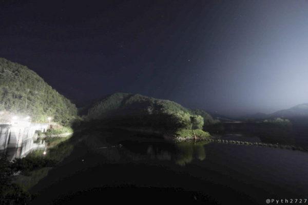 室生ダムの星空