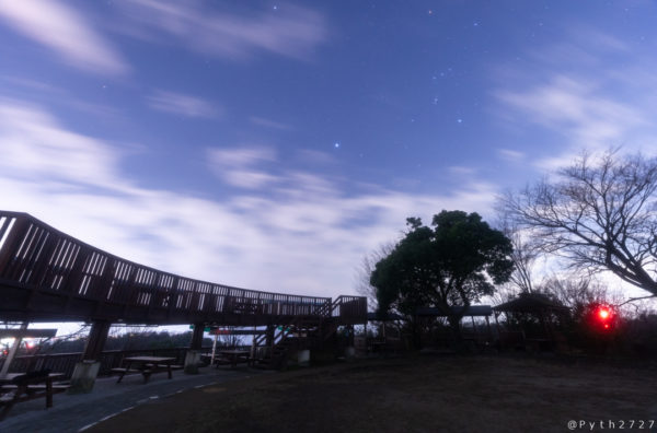 明神山の星空