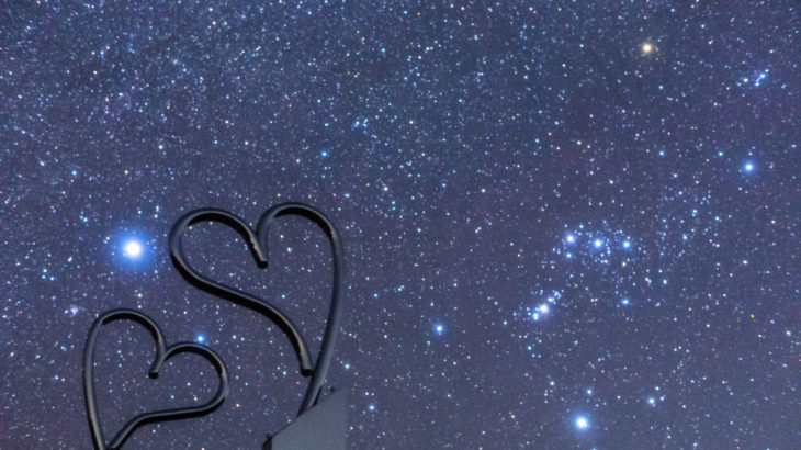 鵜倉園地の星空を撮影しました(三重県南伊勢町)