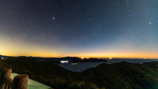 【2020年】三重県で撮影した1月の夏の天の川