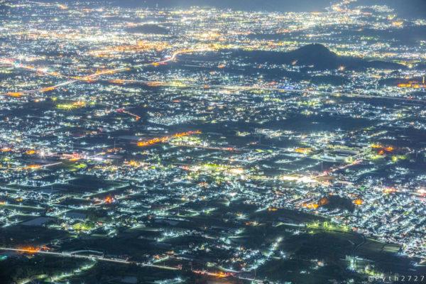 葛城山の夜景