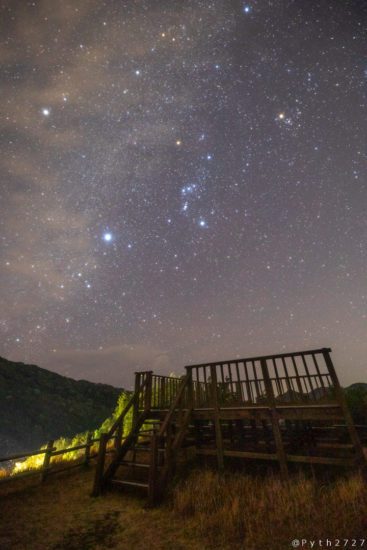中ノ磯展望台の星空