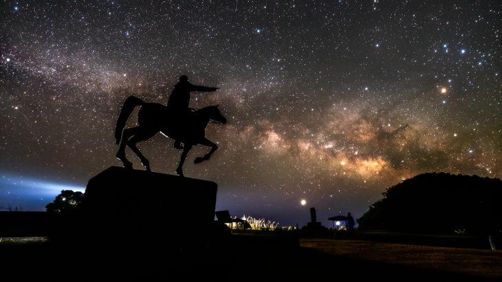 樫野埼灯台へ星空の撮影に行きました(和歌山県串本町)