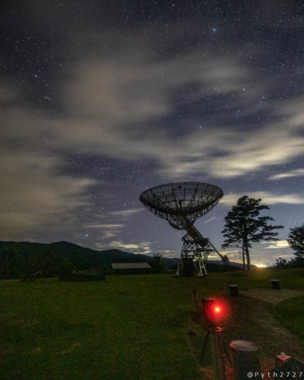 みさと天文台の電波望遠鏡