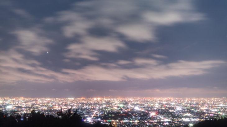 信貴生駒スカイラインへ星空を撮影に行きました(奈良県生駒市)
